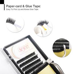 False Eyelashes Korea Australia - Korea Material Individual Eyelash All Size False Eyelash Silk Volume Eyelash Extension Fake Eye Lash
