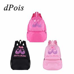 e442275a1684 Lovely Kids Girls Shoulder Students School Backpack Ballet Dance Bag Sequins  Toe Shoes Embroidered Ballerina Waterproof Backpack