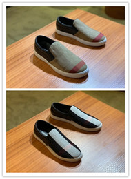Designer Fabric Brands Australia - 2019 New Designer Model Shoes Hot Sale Casual Sneakers Men Luxury Classical Sneakers Leather and fabric Leisure Slip-on Brand Fashion Shoes