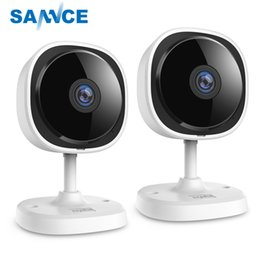 $enCountryForm.capitalKeyWord Australia - SANNCE 2pieces HD 1080P Fisheye IP Camera Home Security Camara Wireless Wifi Mini Camara Night Vision IR Cut Wi-Fi Baby Monitor