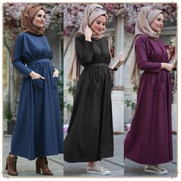 f7887e549e7 2019 new arrival islamic clothing Turkish Abaya Middle Eastern women s dress  Muslim Long Dress