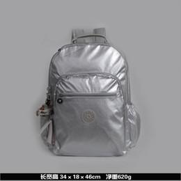 Discount women backpacks - 100% original 2019 new women's fashion classic backpack monkey Kipple shoulder nylon bag female models Kipleds fash