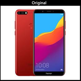 32 Camera Australia - new Original Huawei Honor 7C 3 4GB 32 64GB 5.99 inch Snapdragon 450 Octa Core Front 8.0MP Dual Rear Camera 3000mAh Fingerprint