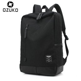 Backpack Canvas Bag Laptop UK - New Style Men's Canvas Backpack Fashion College Student Bag For Teenagers Male Laptop Mochila Casual Travel Rucksacks classic