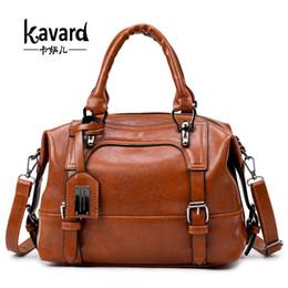 $enCountryForm.capitalKeyWord NZ - wax oil leather bag ladies hand bags women leather handbag designer handbag high quality woman bag women famous brand sac a main