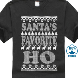 black santa t shirts Australia - Christmas Men`s T Shirt All Style Funny Merry Xmas Santa Ugly Sweaters Black Tee