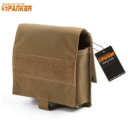 Simple Gadgets NZ - EXCELLENT ELITE SPANKER Outdoor Hunting Military Simple Utility Molle Nylon Magic Tap Waist Pouch Gadget Storage Accessories #822464