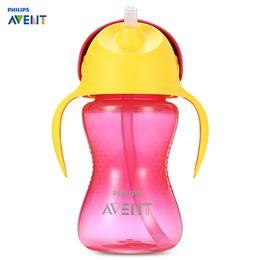 $enCountryForm.capitalKeyWord Australia - Feeding Bottles Philips Avent 10oz 300ml Baby Soft Handle Straw Bottle Training Drinking Cup Dentist Recommended Non-Slip Shape Bottle Fe...
