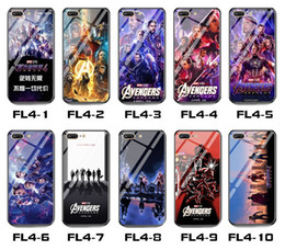 avengers phone cases 2020 - High quality AVENGERS 4 Mobile Phone Case Marvel Glass Phone Case Cover Protective for iphone 6 7 8 plus X XR XS Max