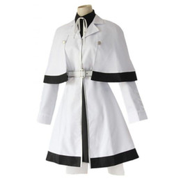 4150aabf4def5 2019 Japanese Anime Tokyo Ghoul Cosplay Costumes Yonebayashi Saiko Cosplay  Halloween Costumes tokyo ghoul Women's white uniform