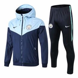 b0aa54d6f4ecfc Men Hoodies 18 Australia - wholesale new 18 19 season Man City hoodies  AGUERO dust jacket