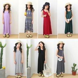 Kids Girls Maxi Dress Summer Casual Party Holiday Beach Long Princess Sundress