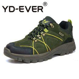 green gingham 2019 - Men Boots Anti-skidding Winter Shoes Men Plush Warm Winter Bootse High Quality Plus Size 37-47 cheap green gingham