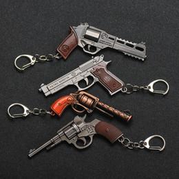 Car Ball Games Australia - Hot Game Weapon Keychains Gun Model Sniper Rifle Key Chain Ring Key Holder for Woman Men Souvenirs Gift