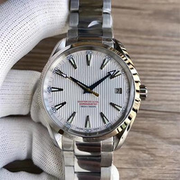 $enCountryForm.capitalKeyWord UK - 2019 41.5mm Automatic Movement Stainless Steel Bracelet Aqua Terra 150m Master MAN WATCH Wristwatch