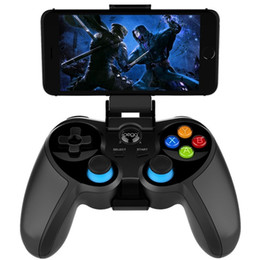 Wholesale new flexible phone for sale - Group buy New PG For Android iOS PC TV Box Wireless Bluetooth Gamepad Controller Flexible Joystick With Phone Holder