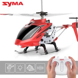$enCountryForm.capitalKeyWord NZ - New Arrival SYMA RC Helicopter S107H With Hover Function 3.5CH RC helicopters present flying toys For Boys Children