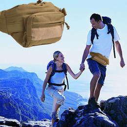 Tactical Shoulder Packs Australia - Outdoor Tactical Waist Pack Utility Canvas Waist Packs Belt Bags Pouch Shoulder Bag Molle Camping Hiking Climbing Bags