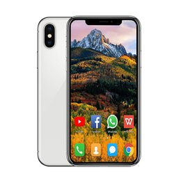 Chinese  5.8inch Andriod phone X Quad Core 1GB RAM 8GB ROM wireless charging with GPS WIFI WCDMA 3G Cellphone Free post tnt manufacturers