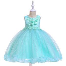 $enCountryForm.capitalKeyWord Australia - Flower Girl Dresses Summer Cheap Red Tulle Dress for Kids Formal Toddler Kids Wedding Tutu Dress