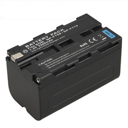 High Capacity 5200mAh NP-F770 NP-F750 NP F770 np f750 NPF770 750 Battery for Sony NP-F770 NP-F750 F960 F970 Camera Battery on Sale
