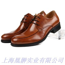 $enCountryForm.capitalKeyWord Australia - Package Correct Man Dress Head Layer Cowhide European Version Will Code 45 Really Leather Male Shoes Quality Three Enchanting2019 Shoe