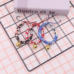$enCountryForm.capitalKeyWord Australia - 2019 Free shipping Wholesales New pet Japanese style and wind cat collar Round bell jewelry collar dog necklace pet supplies a generation