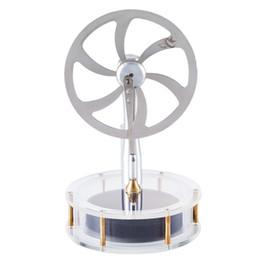 $enCountryForm.capitalKeyWord Australia - High Quality DIY Metal Low Temperature Stirling Engine Stem Steam Model Set Early Learning Model Toys For Children