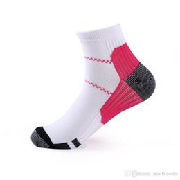 Short Compression Socks Australia - Casual Sports Socks Vein Short Elastic Compression Sock Breathable Sweat-absorbent Foot Socks 6 Styles For Women Men Best Gift G463Q