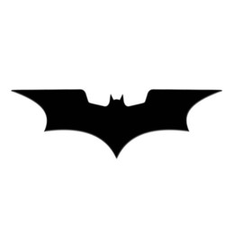 batman car window 2019 - 4pc lot 8.4*3CM Batman sticker phone laptop car sticker CA-687