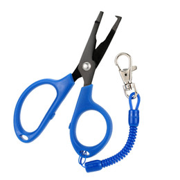 Lure Pliers UK - pesca Multi-function Scissors Gear Cut Line Hook Lure Bait Fishing Plier Hook Remover Fishing Tools Tackle Pesca
