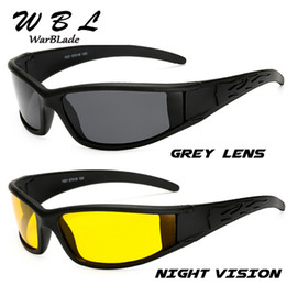 night driving sunglasses wholesale UK - WarBLade Men Polarized Glasses Car Driver Night Vision Goggles Anti-glare Sunglasses Polarized Driving Sun Glasses 2020 New