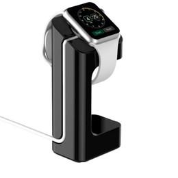 Dock Station Smart Watch Australia - Charge stand For Apple Watch 42mm 38mm 44mm 40mm iWatch 4 3 2 1 smart watch accessories charging dock station holder