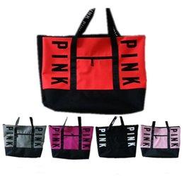 6a30fe8e0740 Pink Checkered Bag NZ - Large Pink Letter Women Handbag Fashion Designer  Shoulder Bags Ladies Girls