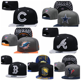 AtlAntA brAve hAts online shopping - Cheap Top quality Atlanta Adjustable Hats Braves Embroidery Team Wholeasle snapback hats Knit Beanies Caps Football sports cap Mixed order