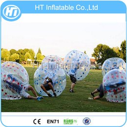 $enCountryForm.capitalKeyWord Australia - Free Shipping 12PCS(6 Blue+6Red+2 pumps) 1.2m PVC Bubble Football ,Bubble Football Equipment,Bubble Soccer