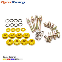 h engine Australia - Racing car Engine Valve Cover Washers Bolts Kit For HONDA B-Series H-Series VTEC TT101330