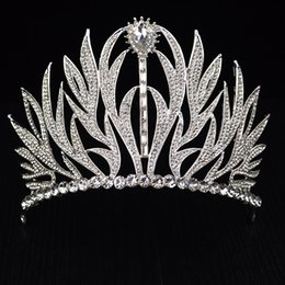 Ladies Hair Fashion Australia - New Crystal Tiara Luxury Wedding Headdress For Bride Crown Fashion Ladies Crystal Headdress Hair Ornaments Wedding Free Shipping J 190430