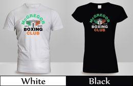 35a9e516 New UFC Conor Mcgregor Boxing Club T-Shirt Men's Women's Black&White  ShirtFunny free shipping Unisex Casual Tshirt top