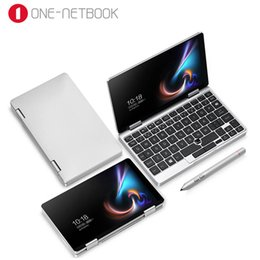 $enCountryForm.capitalKeyWord Australia - One Netbook One Mix 1S Notebook 7 inch Yoga Pocket Laptop Intel Core 3965Y 8GB 128GB Silver Win10 Mini gaming laptops Notebook