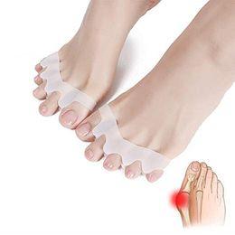 Bunion massager online shopping - hot sale Gel Silicone Bunion Corrector Toe Separators Straightener Spreader Foot Care Tool Hallux Valgus Pro massager