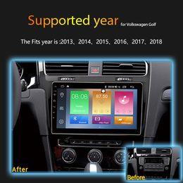 Volkswagen Gps Inch Australia - IPS 2.5D 2GB Ram 32GB Rom 10.1 inch Android 8.1 Car DVD Car Radio HeadUnit GPS Navi Player for 2013- 2015 VW Volkswagen Golf 7 4G SIM DSP