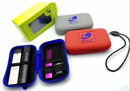 E Cigarette Evod Box Australia - Mini zipper case silicone ego bag box package for e cigarette vaporizer vape pen ego evod juul myle stig vape kit drop shipping