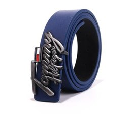 Golden Letter Belt UK - The new hot brand designer is a high quality man and woman fashion leather letter jeans button belt luxury trend style