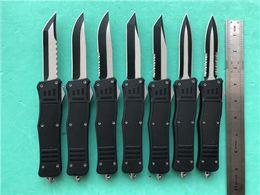 custom tanto knife 2019 - KIMTER Custom Knife Large size 616 D A auto knife Black 440C Blade Zinc aluminum Handle 616 survival Tactical Knife kniv