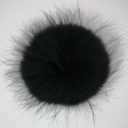 $enCountryForm.capitalKeyWord Australia - Attractive Cute Fashionable Long Hair Any Colors Raccoon Fur Pom Pom Balls for winter knit beanie smart pompoms