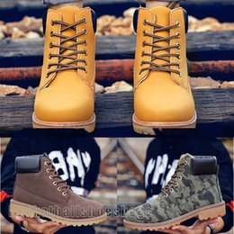 cheap spring boots Canada - Hot Sale 2020 Wholesale Non Brand Cheap High Quality Half Martin Boots For Men Women Sneakers Black Yellow Army Green Size 39-46