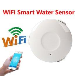 NEO Smart WIFI Capteur d'inondation d'eau WIFI Détecteur de fuite d'eau App Notification Alertes Capteur Alarme Alarme de Fuite Home Securit