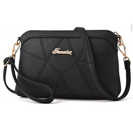 $enCountryForm.capitalKeyWord NZ - 1Women Handbag Leather Bag Flap Small Women Shoulder Bag Feminine Crossbody Messenger Handbag Plaid Patchwork Casual Famous Brand