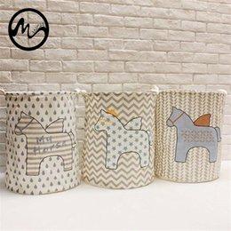 Discount wholesale necktie boxes - New Pegasus Dirty Barrel Folding Toy Storage Boxes Creative Laundry Box Clothes Basket Bra Necktie Socks Storage Organiz